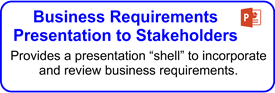 Business Requirements Presentation To Stakeholders