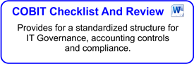 COBIT Checklist And Review
