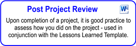 IT Post Project Review