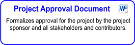Project Approval Document