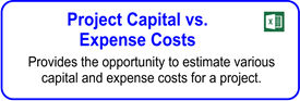 Project Capital Vs. Expense Costs