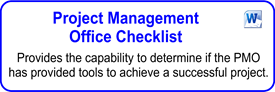 Project Management Office (PMO) Checklist