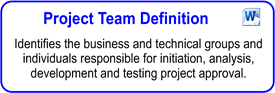 Project Team Definition