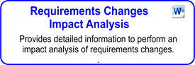 Requirements Changes Impact Analysis