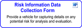 Risk Information Data Collection Form