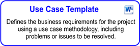 IT Use Case Template