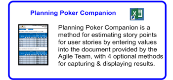 SDLCforms Agile Planning Poker Companion