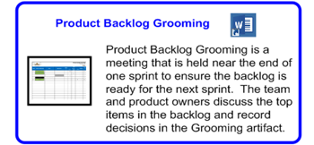 SDLCforms Agile Product Backlog Grooming