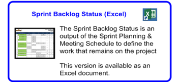 SDLCforms Agile Sprint Backlog Status Excel