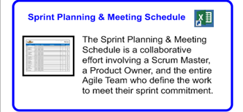 SDLCforms Agile Sprint Planning & Meeting Schedule