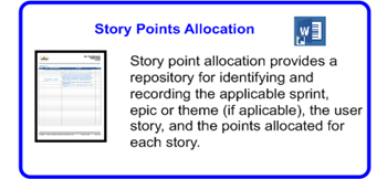 SDLCforms Agile Story Points Allocation