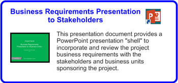 SDLCforms Business Requirements Presentation to Stakeholders