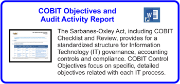 SDLCforms COBIT Objectives and Activities Report