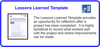 SDLCforms Lessons Learned Template
