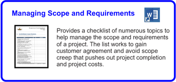 SDLCforms Managing Scope And Requirements