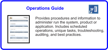 SDLCforms Operations Guide