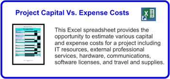 SDLCforms Project Capital Vs Expense Costs