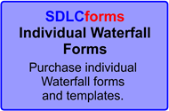 Individual Waterfall Forms - Waterfall templates