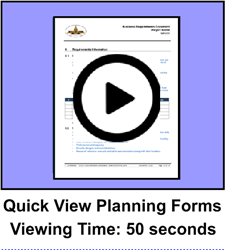 Quick View Planning Package Forms