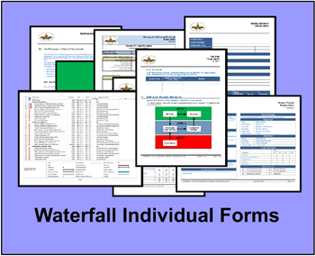 Individual SDLC Waterfall Forms group & individual SDLC Waterfall templates group